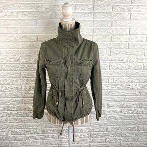 Old Navy Hunter Green Safari Jacket